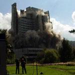 Взрыв гостиницы