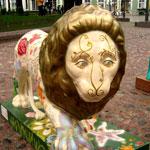 Шествие львов в Санкт-Петербурге