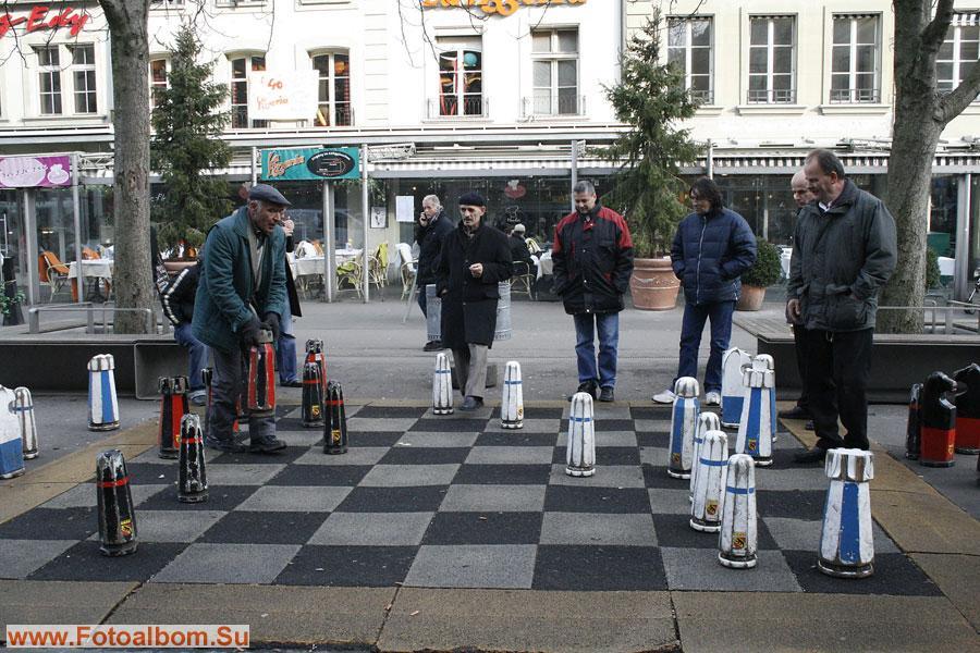 Шахматный клуб под открытым небом
