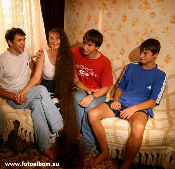 Татьяна и её семья
