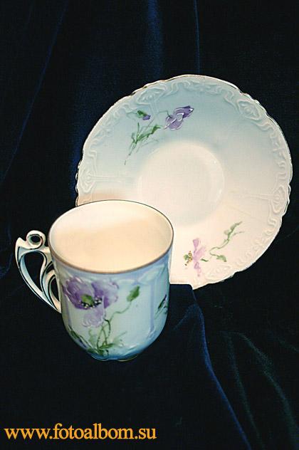 Чашка Гризодубовой. Чашка в стиле модерн из личного сервиза последней русской