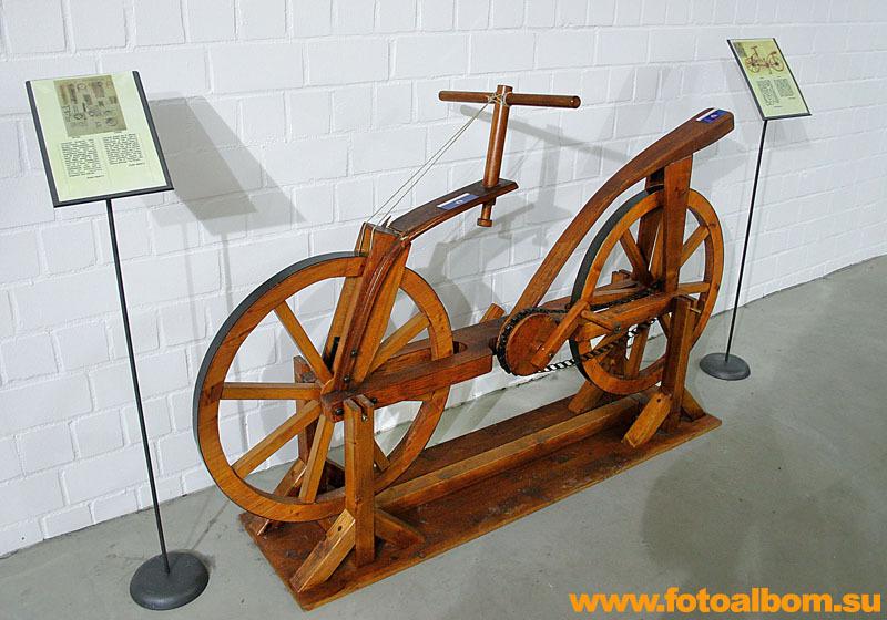 Чертеж первого велосипеда создан Леонардо да Винчи в 1493.  Добавлено в 23:03 - Предыдущее сообщение было в...