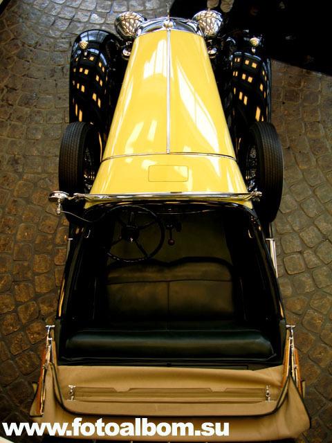 Cadillac V16 Sport Roadster (салон  сверху)