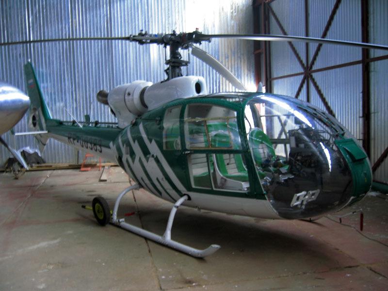 А может вертолет?