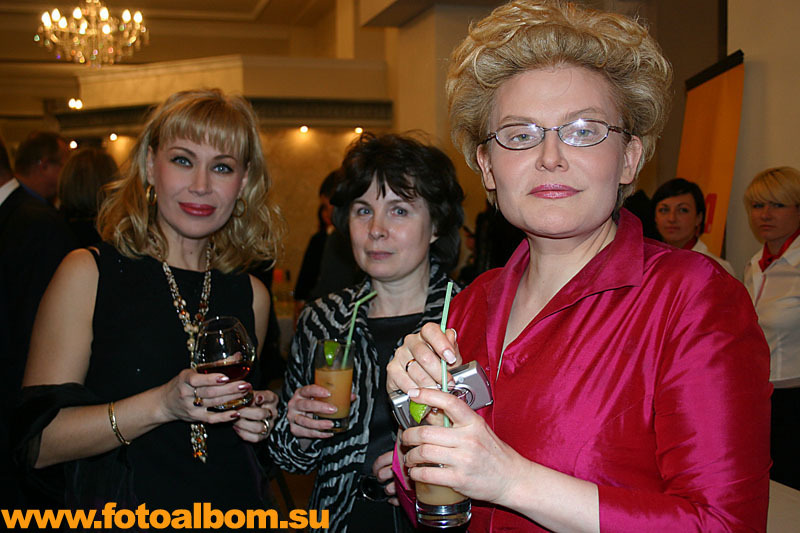 Телеведущая Елена Малышева, актриса Ольга Спиркина и заместитель главного