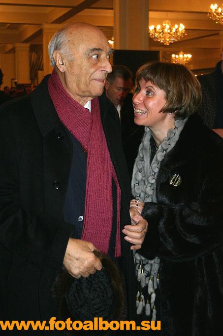 Народный артист СССР  Владимир Этуш с женой Еленой