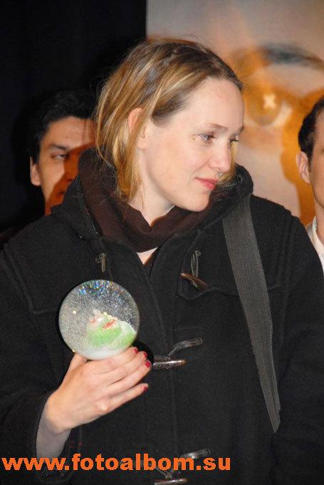 Победитель фестиваля немецкий режиссер Изабель Штевер (ISABELLE STEVER)