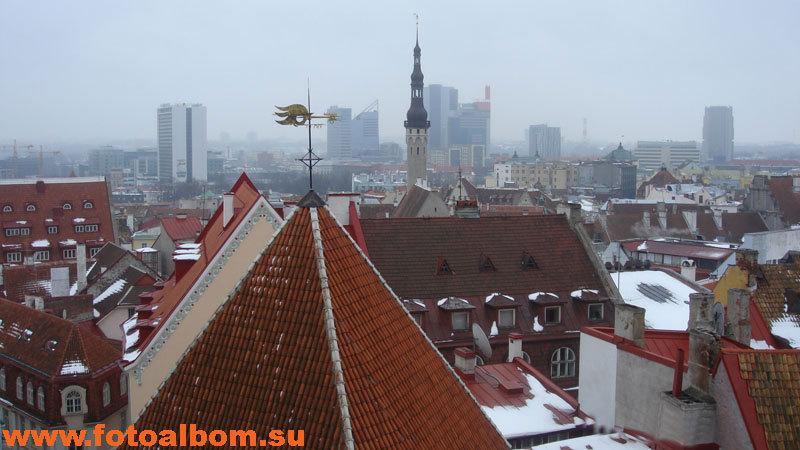 Вид со смотровой площадки Вышгорода