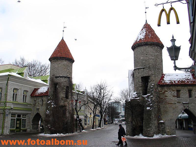 Древние сторожевые башни  Таллина