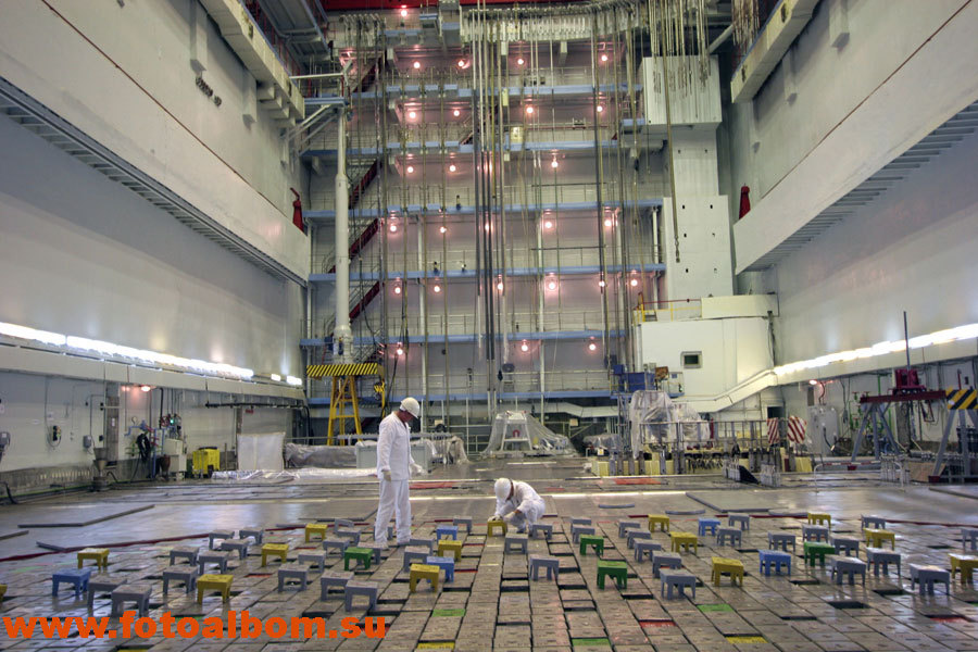 Центральный зал АЭС