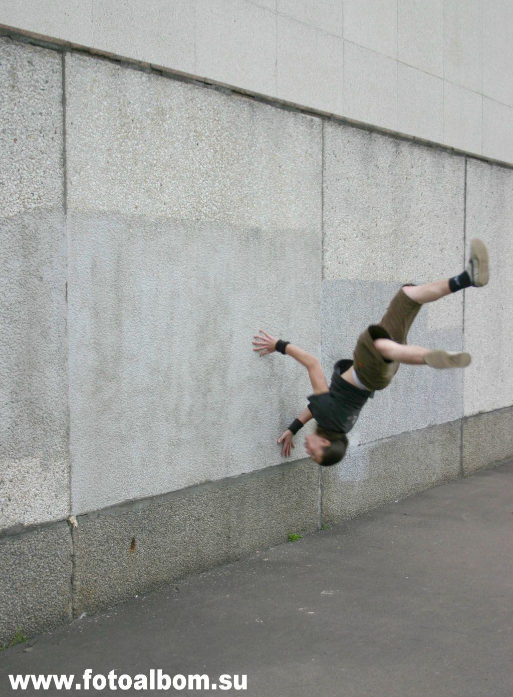 Евгений Дзень. ВВЦ, элемент - wallflip(сальто)