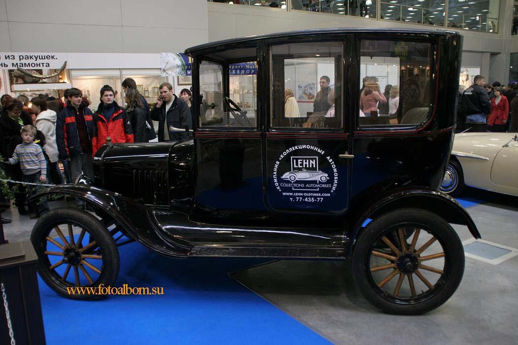 Ford-T Centerdoor. США.  1922.  Первый в мире автомобиль конвейерной сборки,