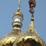 Актеры восстанавливают храм