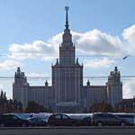 8 марта 2010 года на Воробьёвых (бывших Ленинских) горах.