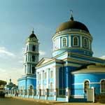 Богоявленский собор в г. Ногинске, сентябрь 2006 года