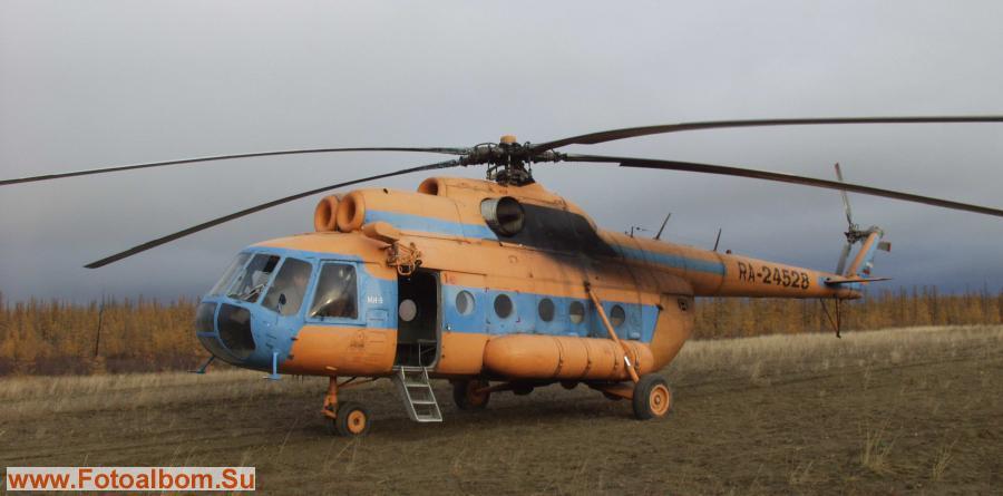 Красавец-трудяга Ми-8Т