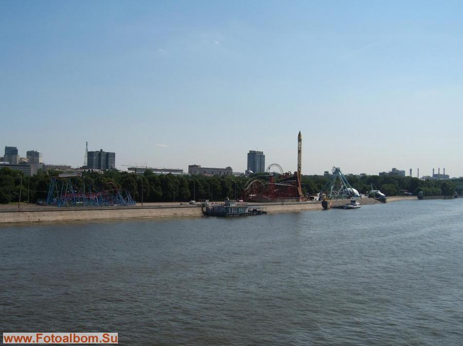 Парк Горького с моста