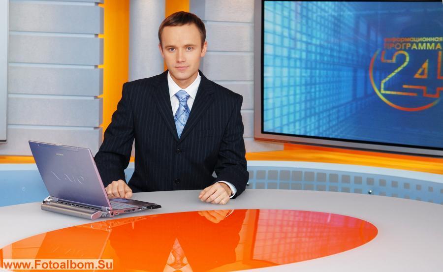 Роман Карлов в студии
