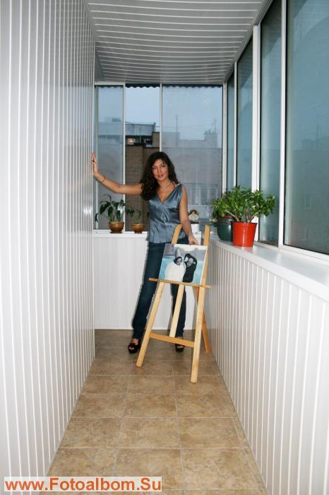 Студия живописи у Лемешевой на балконе