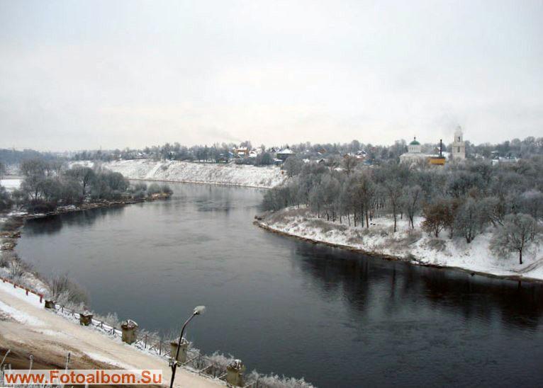 виды Ржева, а река здесь Волга