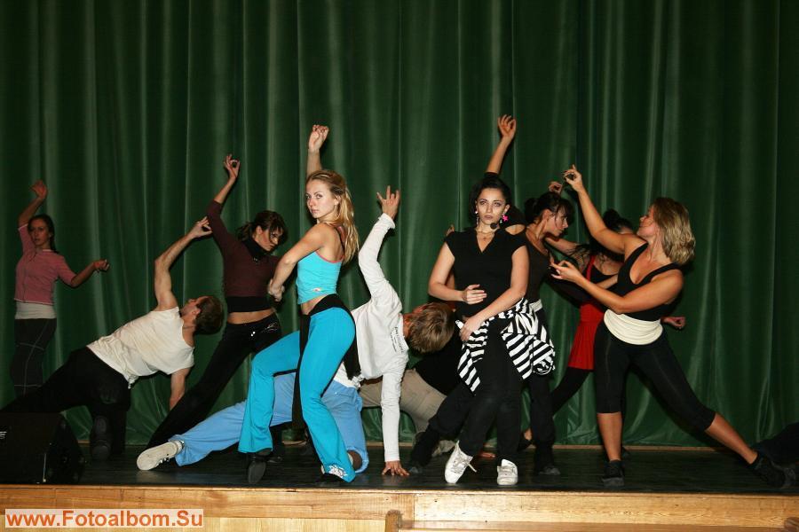 Репетиция танцевальных номеров