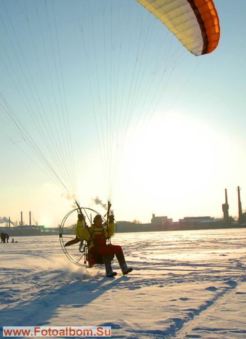 Любимое занятие Экстремала - Валенками чертить по снегу...