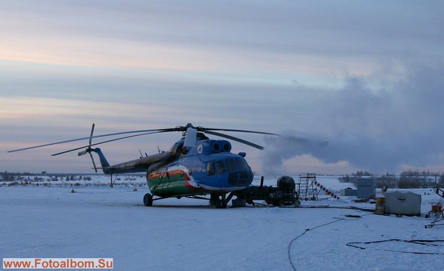 Ми-8 - сейчас, к сожалению, чересчур уж дорогое удовольствие...
