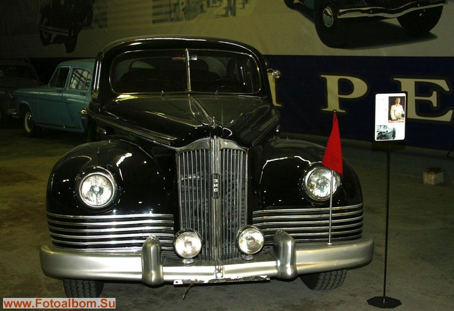 ЗИС 115, выпущено 38 экземпляров, 1947 - 1956