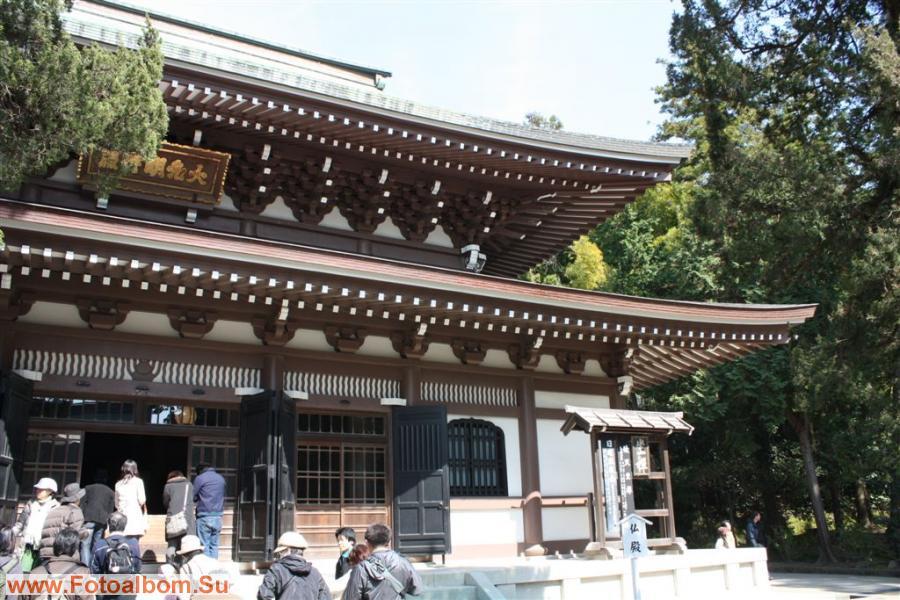 храм Бутцу-ден, реконструкция 1964г.