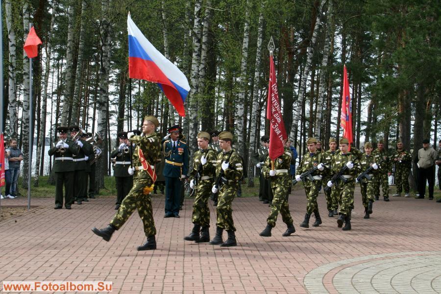 Репетиция перед Парадом Победы в Великих Луках.