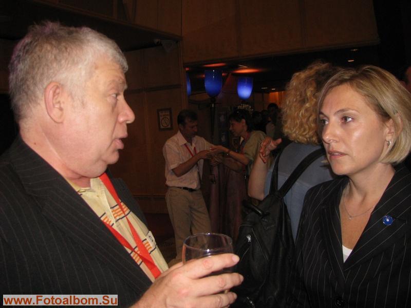 Киевский журналист Михаил Френкель и Наоми Бенг-Ами