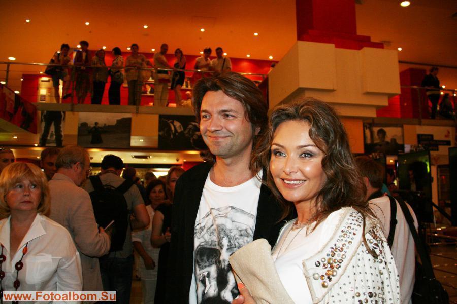 Певец Дмитрий Маликов с супругой