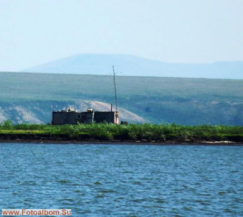 Участок рыбаков на острове Кабачковском
