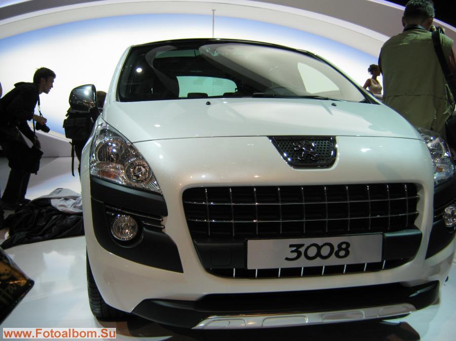 Peugeot (Пежо) 3008. Новый кроссовер для российского рынка.