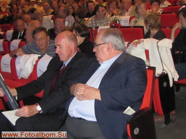 Посол РФ в Израиле П. Стегний и директор русского   культурного центра в