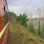 В Дивногорск по железной дороге.