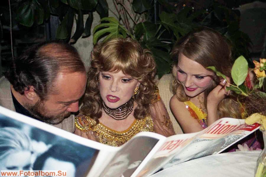 С мужем Сергеем Сениным и мисс Россия