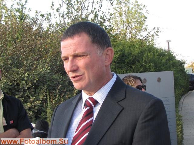 Министр пропаганды Израиля Юлий Эдельштейн