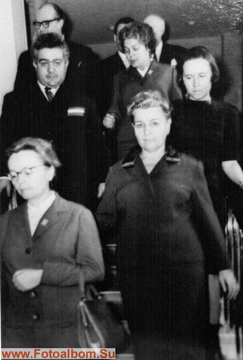 Е.Фурцева с делегацией министерства культуры Румынии