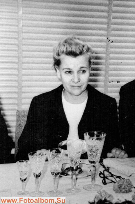Е.Фурцева в министерстве культуры СССР на встрече с делегацией работников