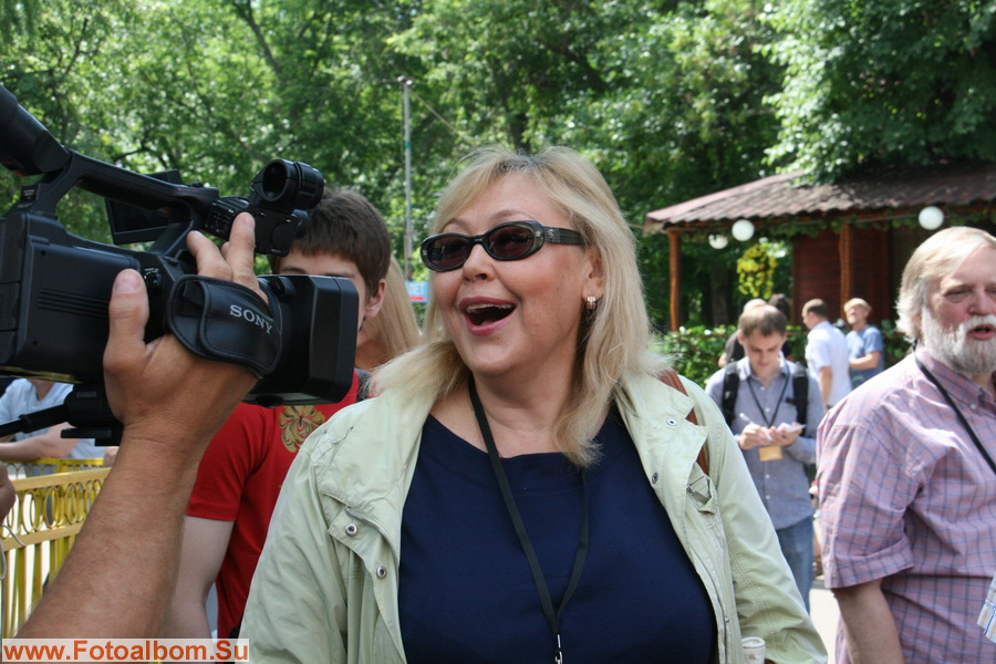 заслуженная артистка России Наталья Хорохорина