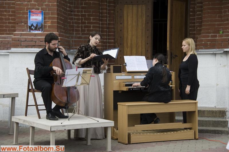Праздник духовной музыки у стен собора