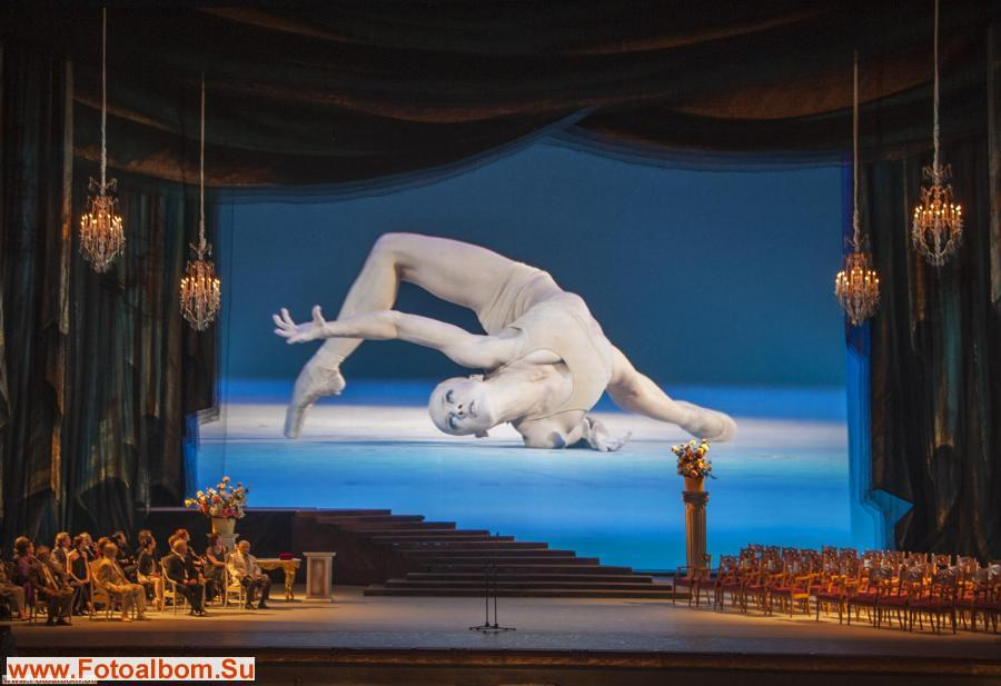 открытие заключительного этапа конкурса на сцене Большого театра